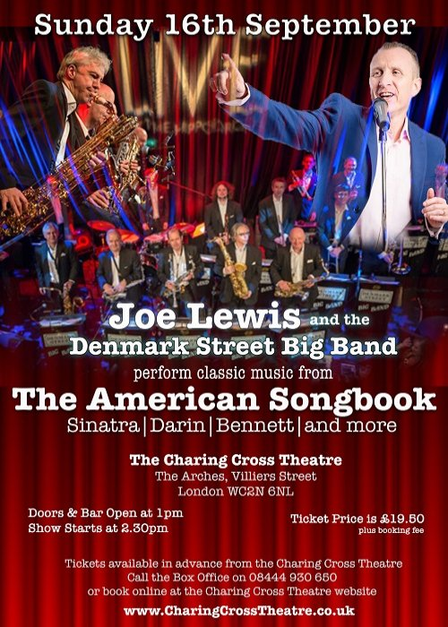 Joe Lewis & The Denmark St. Big Band perform The American Songbook